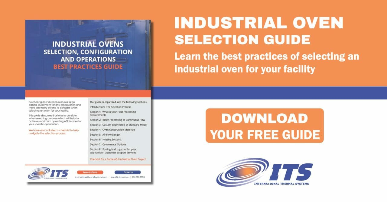 Industrial Oven Selection Guide